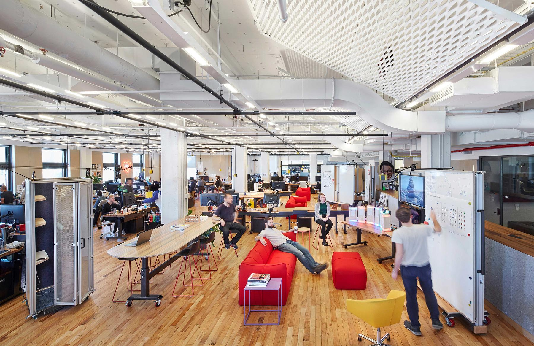 New image office design Space New York Tech Office Unispace Situ New York Tech Office