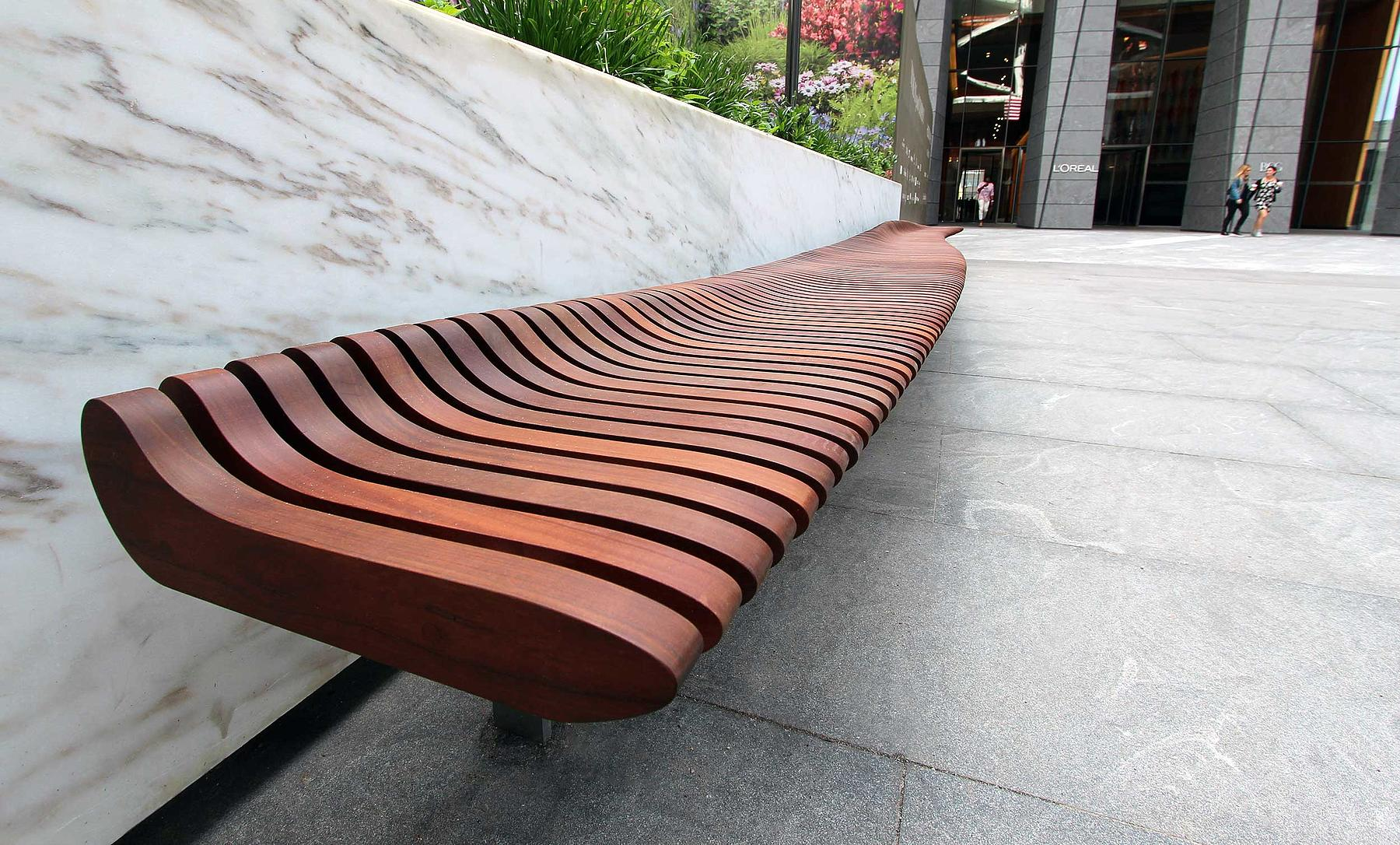 foot yard outdoor back wood benches living with belham bench curved richmond