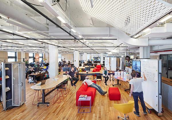 New York Tech OfficeTasked With Creating A New Workspace For One Of New  Yorku0027s Most Innovative Tech Companies, SITU Designed A Hackable, ...